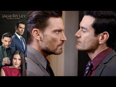 ¡Carlos y Ricardo se enfrentan!   Por amar sin ley - Televisa