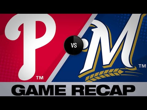 5/26/19: Gamel, Woodruff dazzle in Brewers' 9-1 win