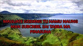 De'Fama Trio - Salah Pillit - Lirik Lagu Batak #popbataksong   tanpa iklan