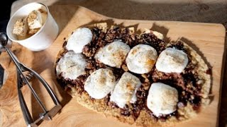 How To Make S'mores Pizza | Just Add Sugar