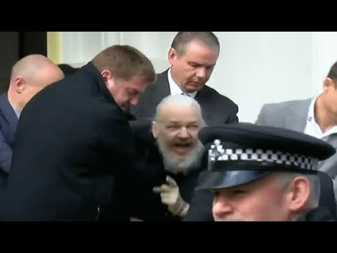 Julian Assange Arrested After Asylum Revoked, Plans To Extradite To The US