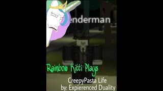 CreepyPasta Life { Roblox } - You can be Offenderman!?