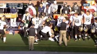 2016 Michigan Football Highlights v Colorado