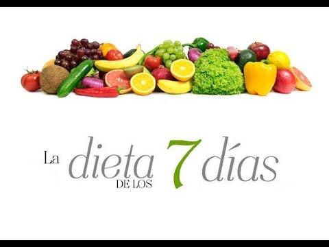 ¡Baja 8 kilos en 7 Días, con la Dieta de los 7 Días!