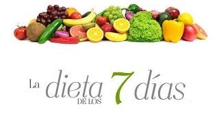¡baja 8 kilos en 7 días con la dieta de los 7 días