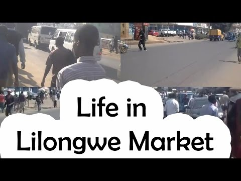 Life in Lilongwe Market | NyasaTV