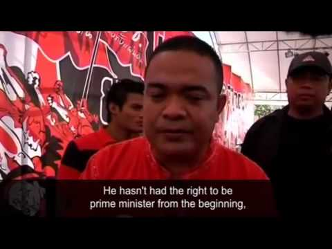 Thailand's blood protest -  what does it actually mean