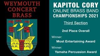 Weymouth Concert Brass - Kapitol Cory Online Championships 2021