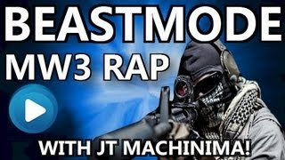 Repeat youtube video BEASTMODE - MW3 Rap / Montage (feat JT Machinima!)
