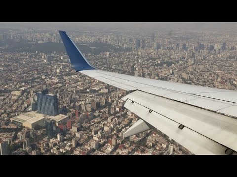 Delta Airlines Boeing 737-700 [DL365] ✈ Landing in Mexico City ✈