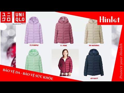 Hinlet |  Bảng Màu áo Khoác Lông Vũ Uniqlo Nhật Bản