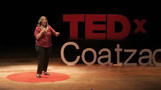 Qué me roba la felicidad. | Ana María Peláez | TEDxCoatzacoalcos