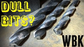 Repeat youtube video How to sharpen drill bits easily!
