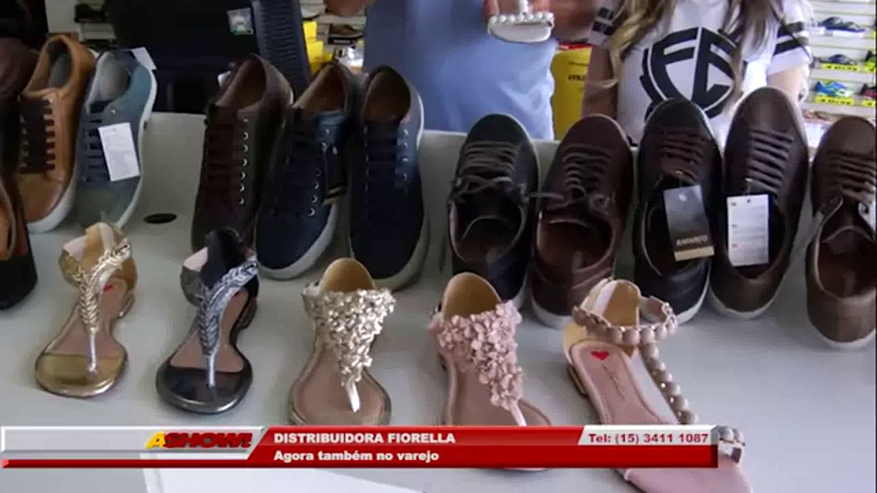 ece6cb3871 FIORELLA DISTRIBUIDORA DE CALÇADOS 2018 - YouTube
