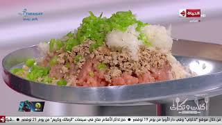 أكلات وتكات - ( شوربة مشروم بمكعبات ماجي ، برجر لحمة ، برجر فراخ ) من ايد الشيف حسن