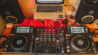 Techno Mix August 2018 XDJ 1000 MK2 S DJM 750 MK2