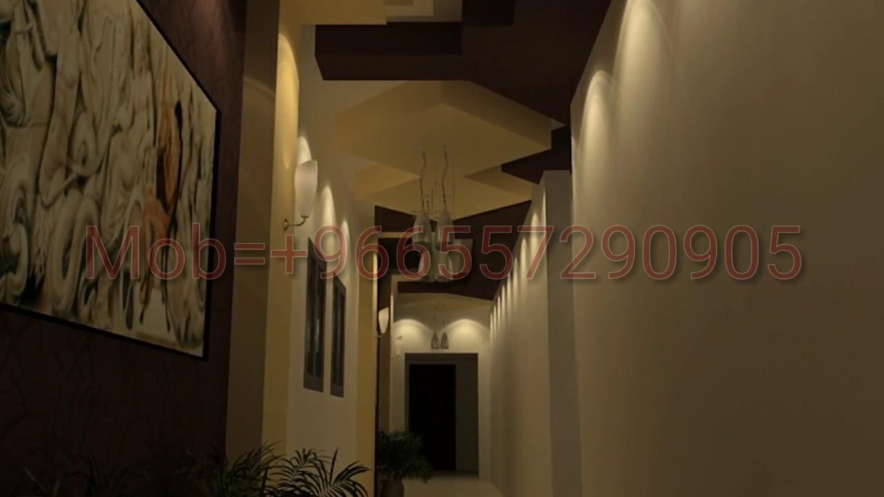Corridor Design Ceiling: Latest Gypsum False Ceiling Designs 2017 Nice Corridor And