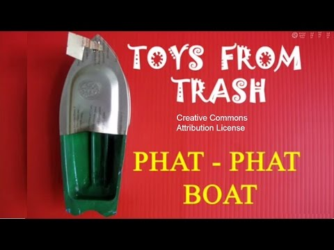 PHAT PHAT BOAT - TAMIL - Amazing Traditional Indian Toy!