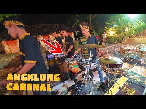 SUKET TEKI Garapan Baru dengan Ketipung & Drum Set Baru Tambah Jos - CAREHAL (Angklung Malioboro)