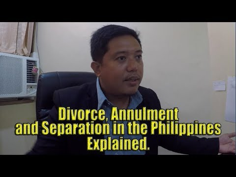 Divorce, Annulment And Separation In The Philippines. Explained.