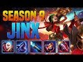 JINX GUIDE SEASON 9 (2019) COMPLETE GUIDE! (BEST RUNES, ITEMS, COMBOS, MATCHUPS, GAMEPLAY)