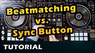 How to DJ - 2 - Beginner Tutorial  Beatmatching, Analog, BPM, Sync // Deutsch
