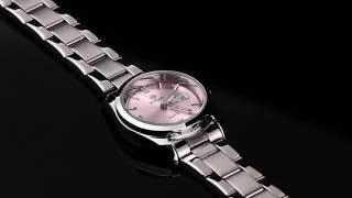 Ladies Watch Wristwatches Luminous Full Steel Band Quartz Watch 8804