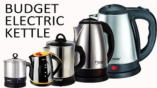 Top 5 Budget Electric Kettle In India