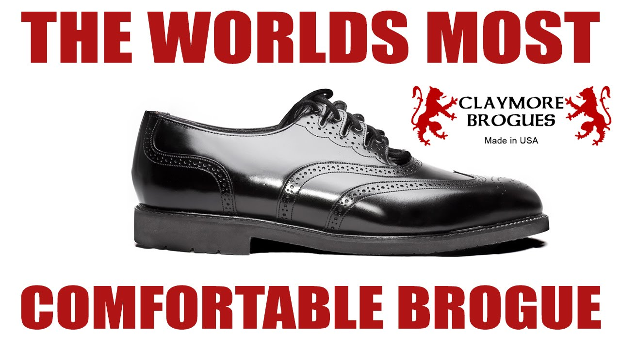 Most Comfortable Brogue in the World