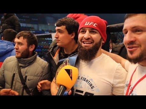 Триумф таджикских борцов ММА в Москве: самые яркие поединки