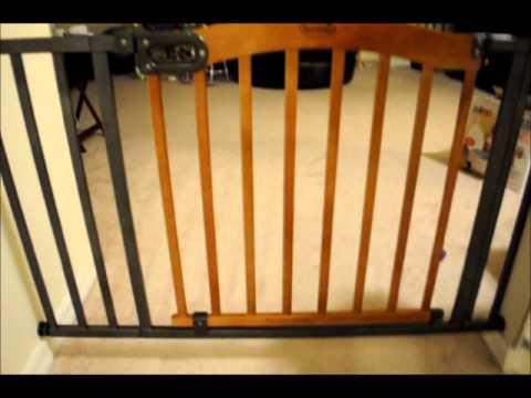 kidco white g2000 baby gate and summer infant stylish u0026 secure wood u0026 metal expansion gate