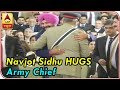 Imran Khan Oath Ceremony: When Navjot Sidhu HUGS Army Chief Qamar Bajwa | ABP News