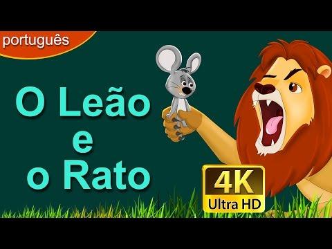 o-leão-e-o-rato- -contos-de-fadas- -contos-infantis- -portuguese-fairy-tales