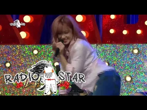 [RADIO STAR] 라디오스타 - Jeon Hyo-sung's dance '24hours is insufficient' 효성, 섹시미 폭발 '24시간이 모자라' 20150624