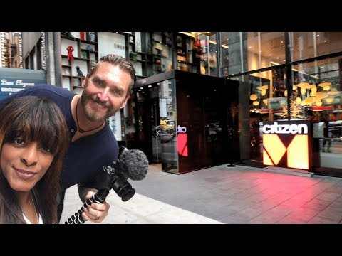 CitizenM New York Times Square Hotel In Manhattan On Broadway With Amazing Rooftop Bar!