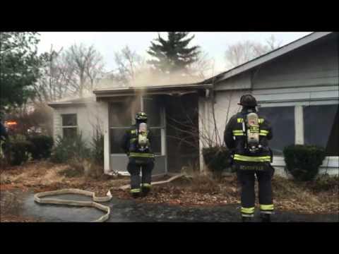 Wayne Township Fire 1100 N Raceway Rd. Working Residence Fire
