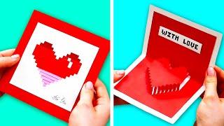 32 SchÖne Kartenideen FÜr Den Valentinstag