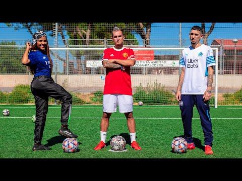 EL JINCHO VS DELANTERO09 VS MARTHA HEREDIA - Retos de Fútbol Épicos