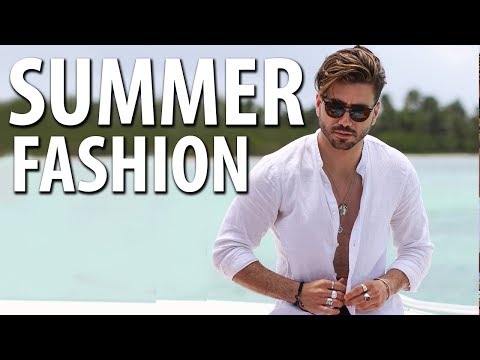 Men's Summer Outfit Inspiration   Tropical Lookbook for Men 2018   Punta Cana