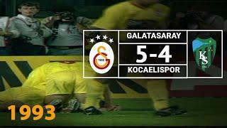 Nostalji Maçlar | 1993-1994 Sezonu Galatasaray 5  - 4 Kocaelispor