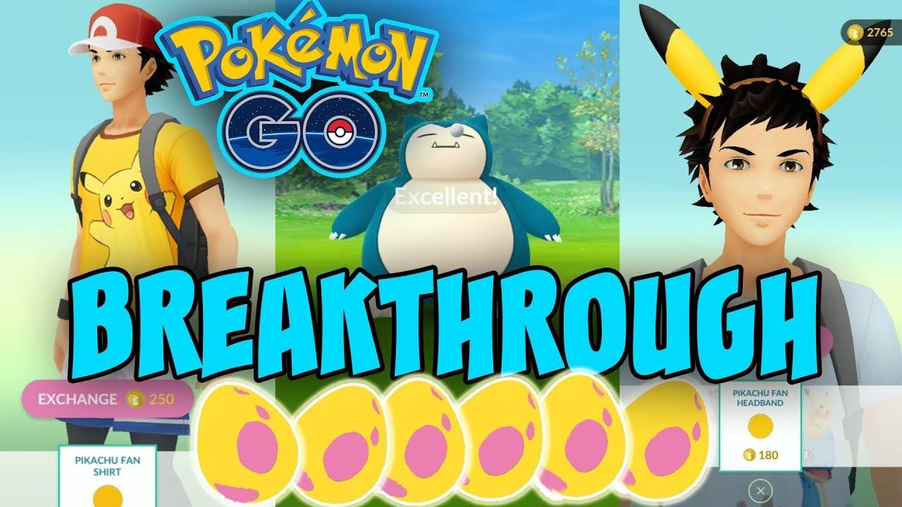 Pikachu Fan Clothes In Shop Pokemon Go Pokemon Storage Increase Alolan Eggs From Patrons Youtube