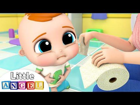 Yes Yes, Go Potty! | Little Angel Kids Songs \u0026 Nursery Rhymes