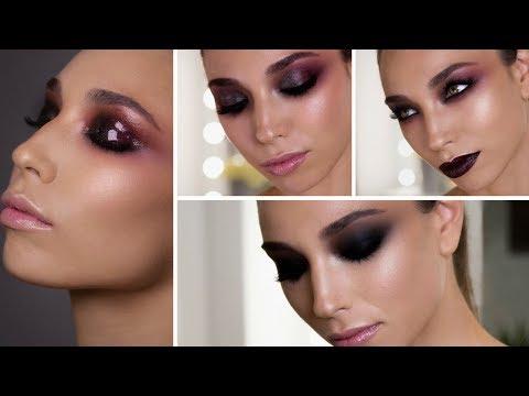 4 LOOKS | Smoky Eyes, Bold Lips & Glossy Lids | Makeupzone.net