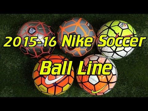 201516 Nike Soccer BallFootball Line Comparison