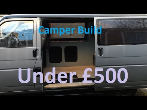 How To Convert Your Van A Basic Camper For Cheap