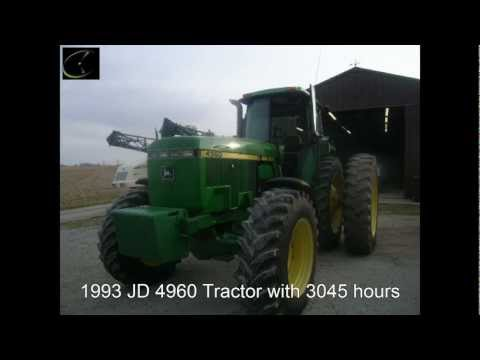 JD 4960 Tractor Sold for $114,000 on Ohio Farm Auction 1/24/13