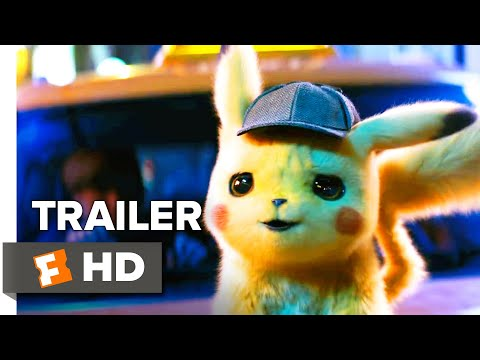 Scotty B - Detective Pikachu Trailer Debuts Featuring Voice of Ryan Reynolds