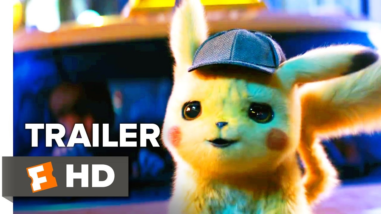 Pokemon Detective Pikachu Trailer 1 2019 Movieclips Trailers Youtube