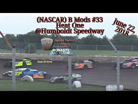 (NASCAR) B Mods #33, Heat 1, Humboldt Speedway, 06/22/18