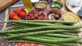 Sambar recipe / Indian Sambar Recipe in Village Cooking  / Best Indian Village Food